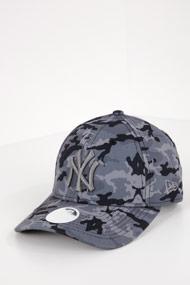 New Era - 9Forty Cap / Strapback - Grey + Camouflage