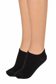 Tommy Hilfiger - Doppelpack Socken - Black