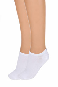 Tommy Hilfiger - Doppelpack Socken - White