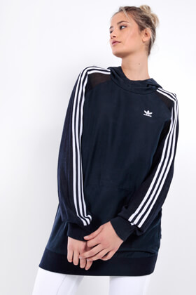 Picture of 3 Stripes long Hoodie