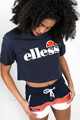 Ellesse - Crop T-Shirt - Navy