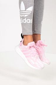 adidas Originals - NMD_R2 Sneaker low - Wonder Pink + White