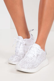 adidas Originals - NMD_R2 Sneaker low - White + Grey