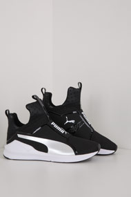 Puma - Fierce Sneaker high - Black + White