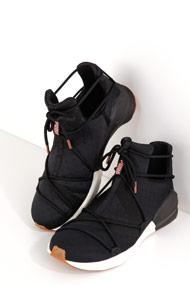 Puma - Fierce sneakers montantes - Black + Offwhite
