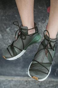 Puma - Fierce Sneaker high - Olive Green