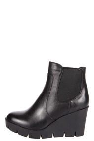 Miss88 - Bottines compensées - Black