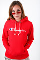 Champion - Kapuzensweatshirt - Red