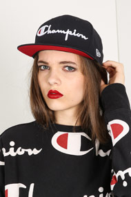 Champion - 9Fifty Cap / Snapback - Navy Blue + White + Red
