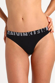 Calvin Klein - String - Black + Grey