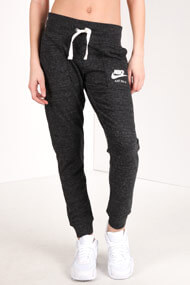 Nike - Pantalon de jogging - Heather Black + White