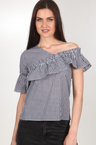 Ivivi - Blouse - Black + White