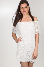 Ivivi - Robe off shoulder - Offwhite