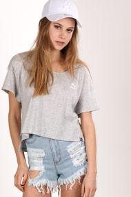 Puma - Oversize T-Shirt - Heather Light Grey