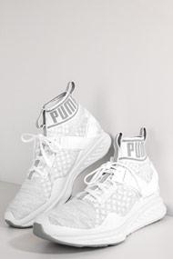 Puma - Ignite sneakers montantes - White + Light Grey