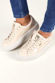Puma - Sneakers plateforme basses - Light Beige