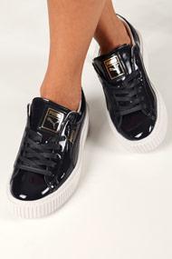 Puma - Sneakers plateforme basses - Dark Navy Blue