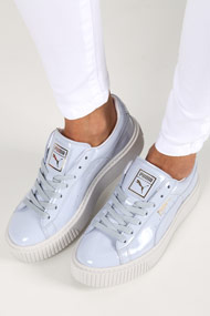 Puma - Sneakers plateforme basses - Light Blue