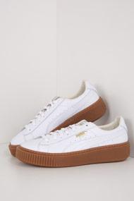 Puma - Platform Core Sneaker low - White