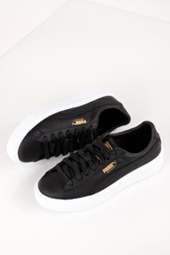 Puma - Platform Core sneakers basses - Black
