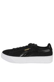 Puma - Plateau Sneaker low - Black + White