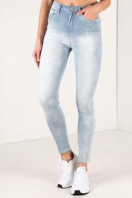Tally Weijl - High Waist Skinny Jeans - Light Blue