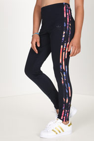adidas Originals - Leggings - Dark Navy Blue + Multicolor