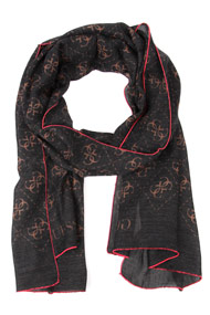 Guess - Tuch / Foulard - Anthracite + Beige
