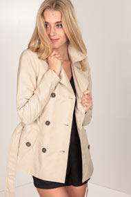 Only - Trenchcoat - Beige