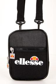 Ellesse - Umhängetasche - Black + Dark Grey