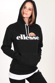 Ellesse - Kapuzensweatshirt - Black + White