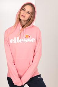 Ellesse - Kapuzensweatshirt - Rose + White