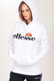 Ellesse - Kapuzensweatshirt - White + Black