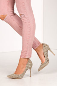 Guess - Pumps - Beige + Brown