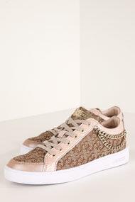 Guess - Glinna Sneaker low - Beige + Brown