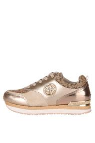 Guess - Plateau Sneaker low - Beige + Gold
