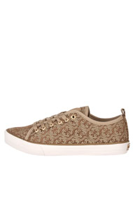 Guess - Sneaker low - Beige + Brown