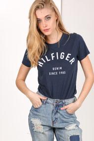 Tommy Hilfiger - T-Shirt - Navy Blue