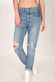 Levi's - Mom Fit Jeans - Blue