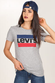 Levi's - T-Shirt - Heather Light Grey
