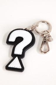 Guess - Schlüsselanhänger - Black + White