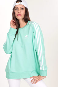 adidas Originals - Sweatshirt - Mint + White