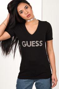 Guess - T-Shirt - Black