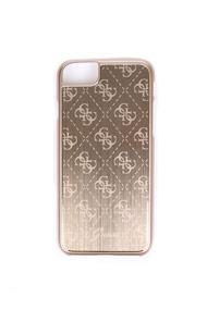 Guess - iPhone 7 Case - Transparent + Gold