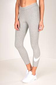 Nike - Leggings 3/4 - Heather Grey + White