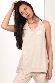 Nike - Tanktop - Heather Light Beige