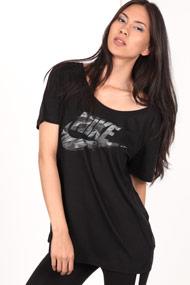 Nike - Oversize T-Shirt - Black + Camouflage