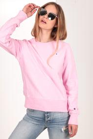 Champion - Sweatshirt - Rose + White