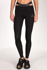 Puma - Sport Leggings - Black + Grey