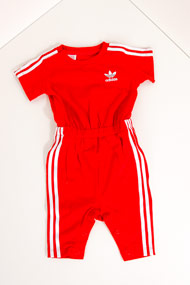 adidas Originals - Baby Jumpsuit / Onesie - Red + White